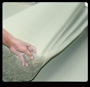 熊本産い草を使用した、品質が良く安全な畳です。